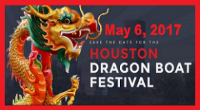 cartoonityvuehouston says get in your boat for the Dragon Boat Race