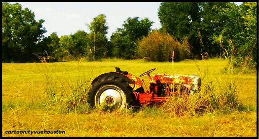 cartoonityvuehouston says please be kind to your tractor