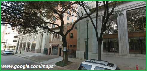 cartoonityvuehouston says this is a google maps streetview of Caroline Street