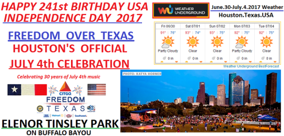 cartoonityvue houston says HAPPY JULY 4TH USA - ENJOY 241st INDEPENDENCE DAY
