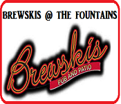 cartoonityvuehouston says: HAVE GOOD BEER & FOOD at BREWSKIS PUB @ THE FOUNTAINS in STAFFORD