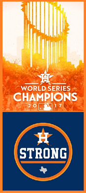 HOUSTON ASTROS 2017 MLB CHAMPS !