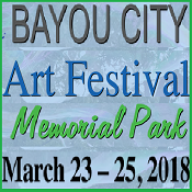 47th Year of Bayou City Art Fest in Memorial Park Mar.23-25, 2018